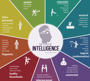 9 types of intelligence quiz banner