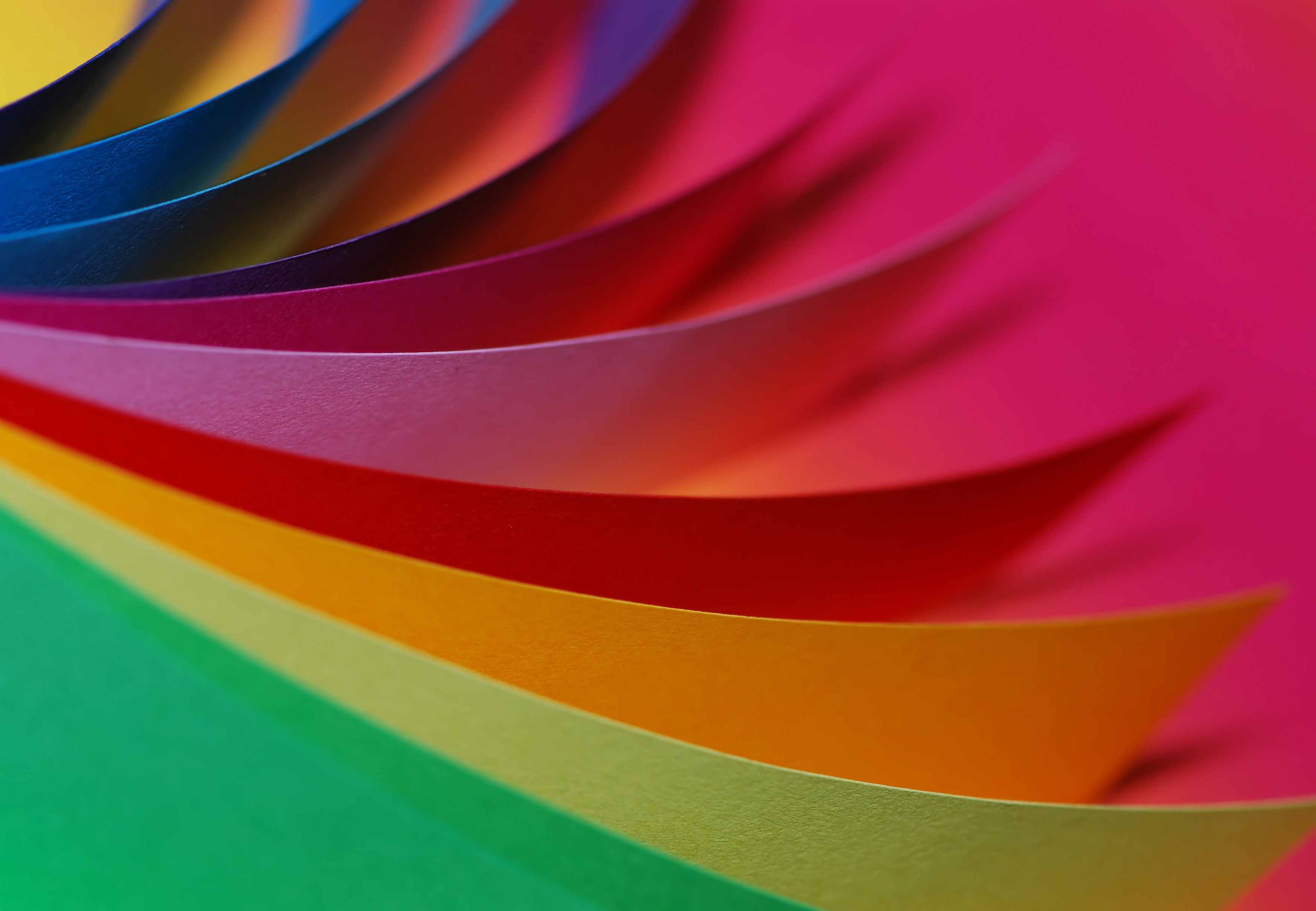 Image of colorful papers